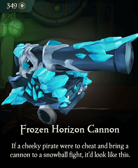 Frozen Horizon Cannon
