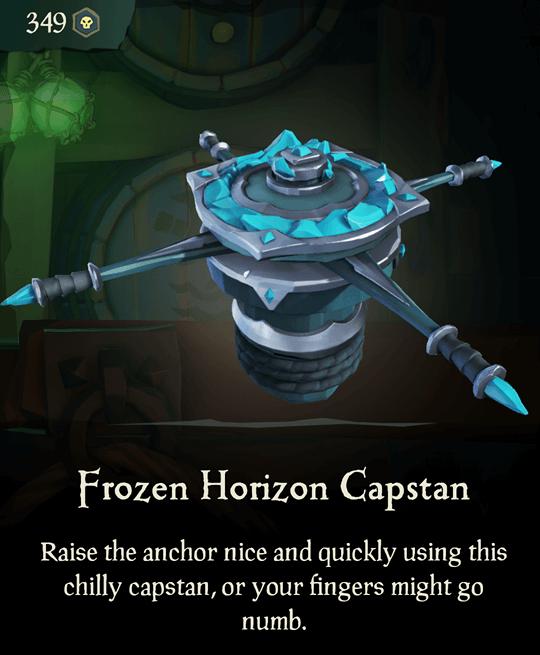 Frozen Horizon Capstan