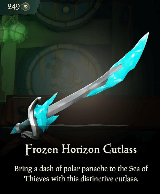 Frozen Horizon Cutlass