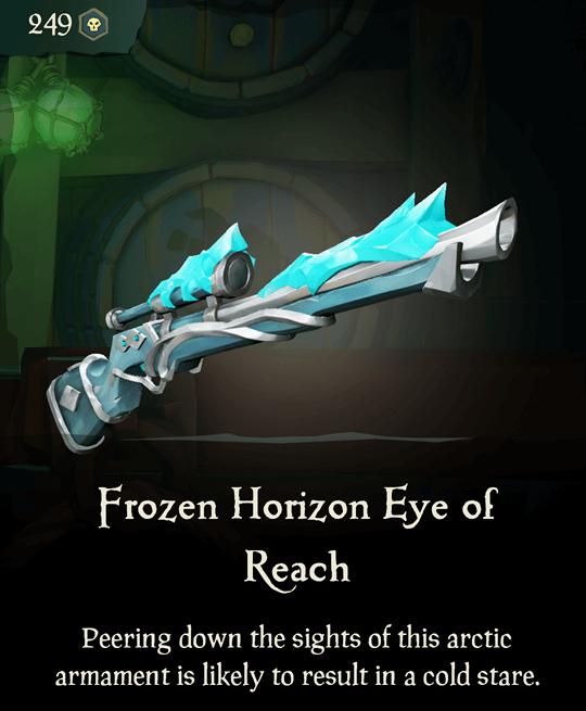 Frozen Horizon Eye of Reach