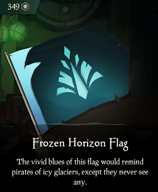 Frozen Horizon Flag