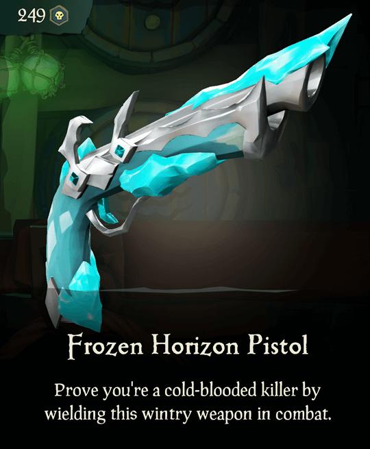 Frozen Horizon Pistol