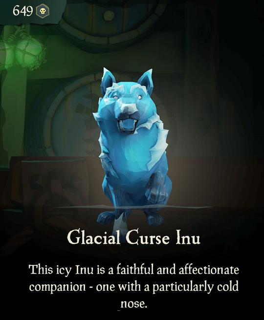Glacial Curse Inu