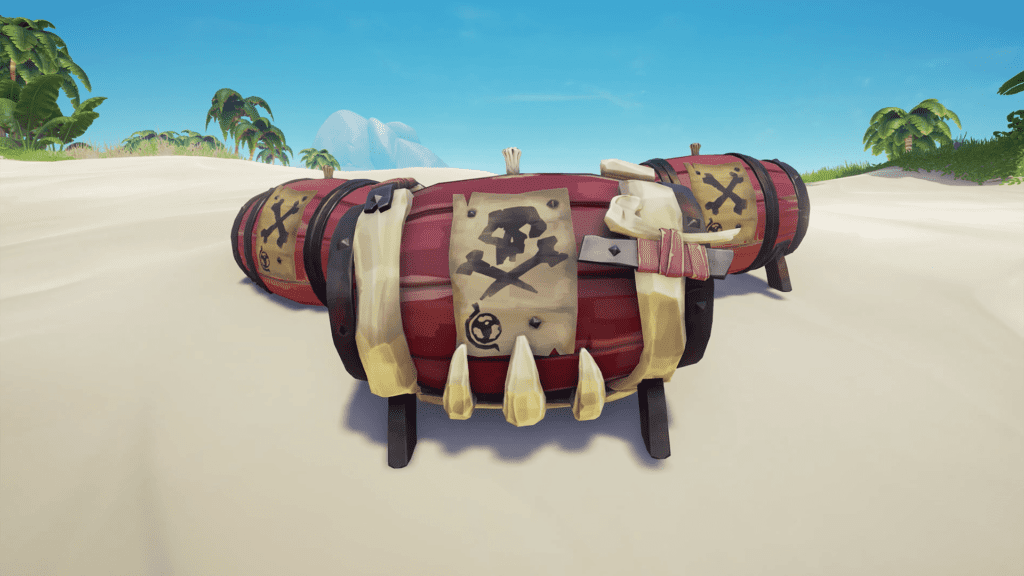 Gunpowder Barrels