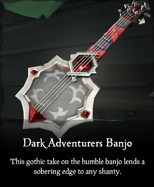 Dark Adventurers Banjo