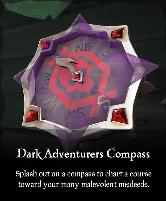 Dark Adventurers Compass