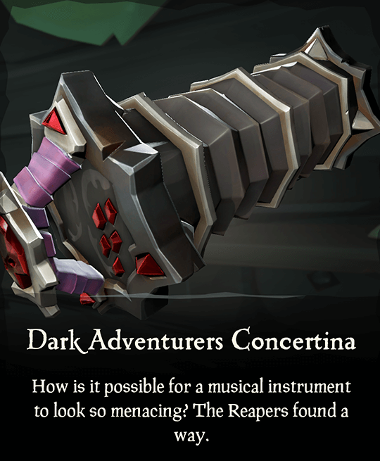 Dark Adventurers Concertina
