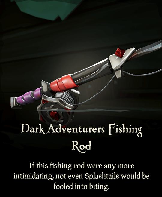 Dark Adventurers Fishing Rod
