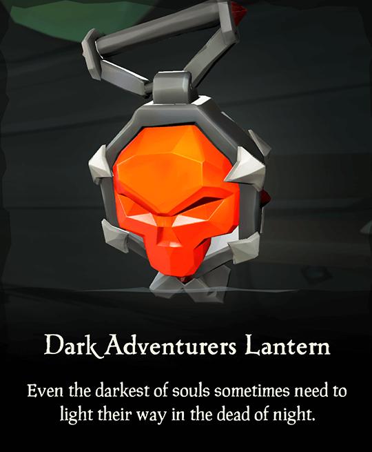 Dark Adventurers Lantern