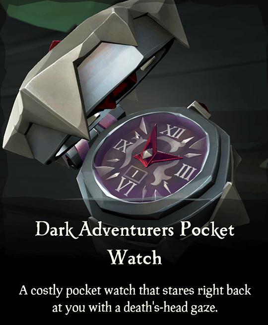 Dark Adventurers Pocket Watch