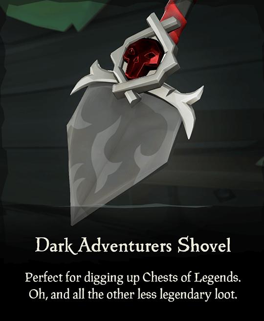 Dark Adventurers Shovel