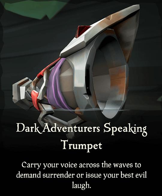 Dark Adventurers Speaking Trumpet