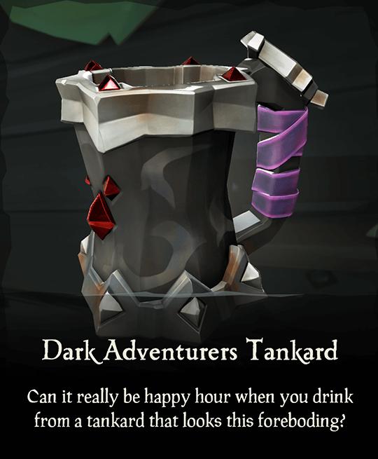 Dark Adventurers Tankard