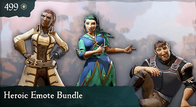 Heroic Emote Bundle