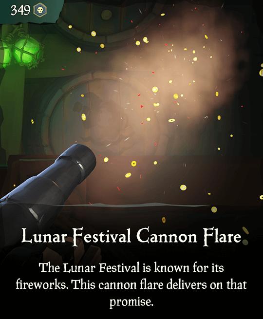 Lunar Festival Cannon Flare