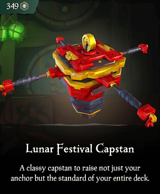 Lunar Festival Capstan