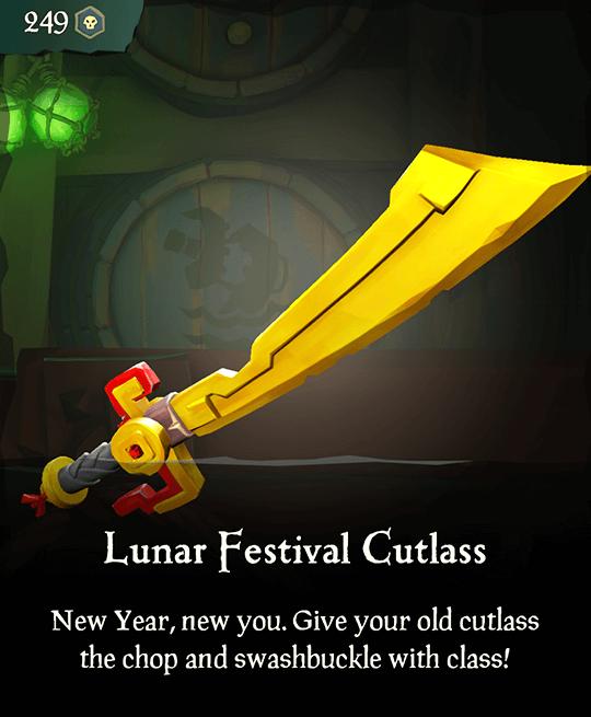 Lunar Festival Cutlass