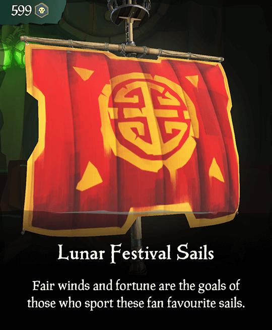 Lunar Festival Sails