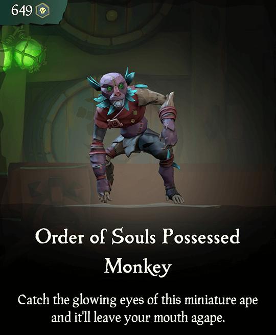 Order of Souls Possessed Monkey