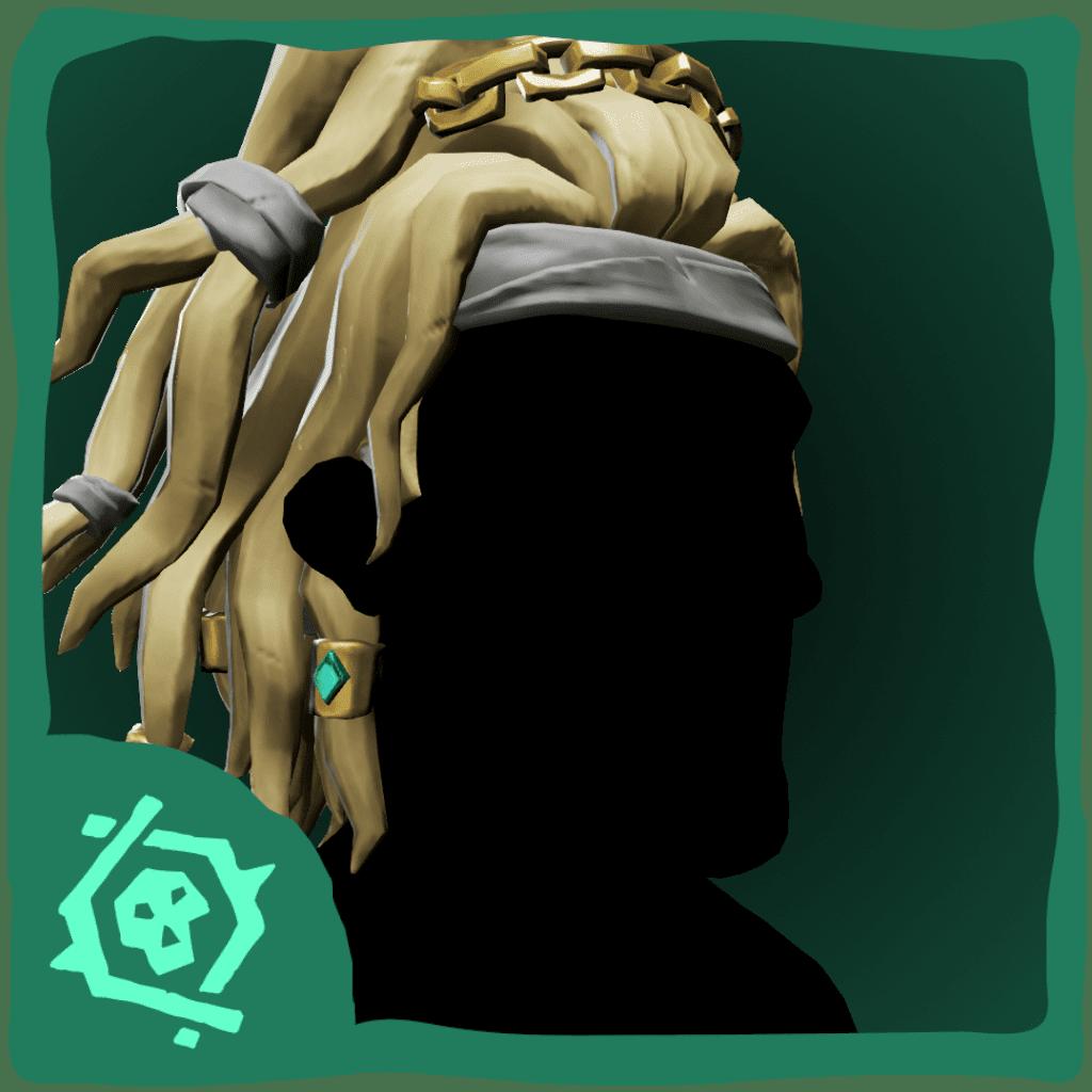 Pirate Legend Updo Hair