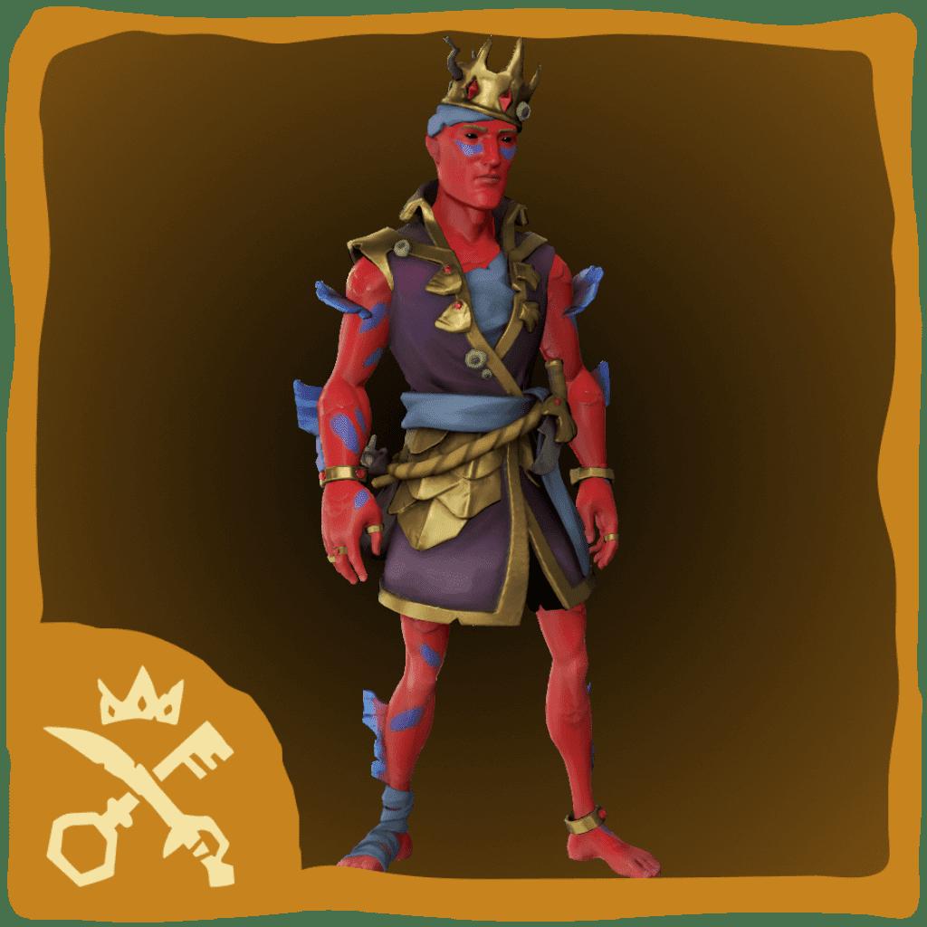 Ruby Splashtail Monarch Costume