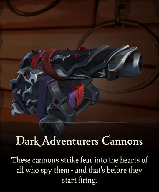 Dark Adventurers Cannons