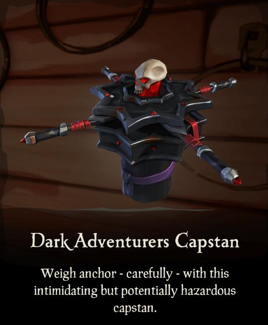 Dark Adventurers Capstan