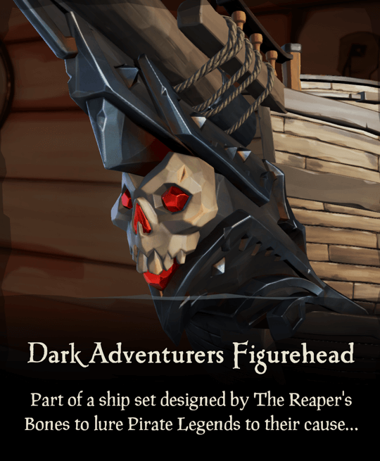 Dark Adventurers Figurehead