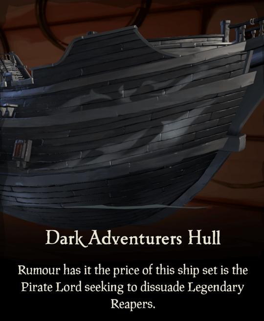 Dark Adventurers Hull