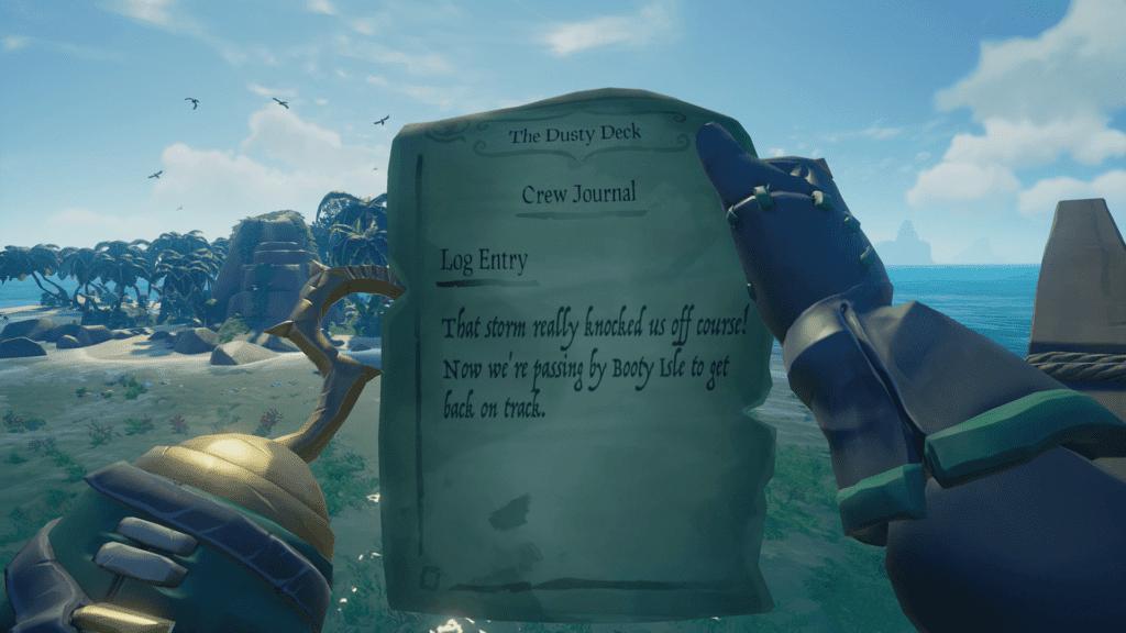 Island Clue