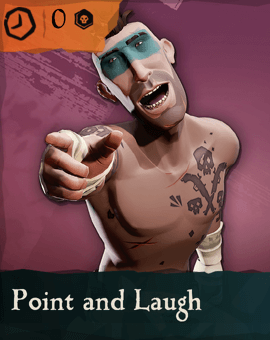 Point and Laugh Emote