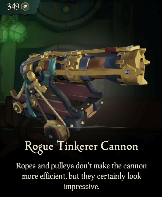 Rogue Tinkerer Cannon