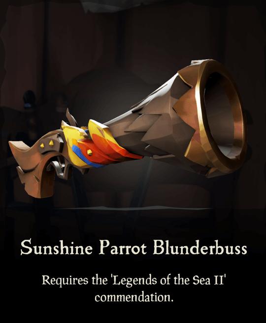 Sunshine Parrot Blunderbuss