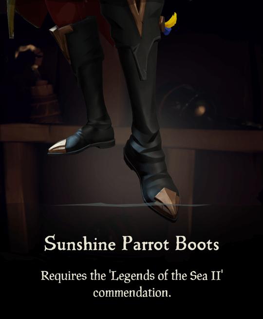 Sunshine Parrot Boots