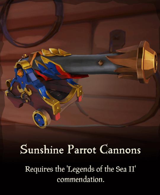 Sunshine Parrot Cannons