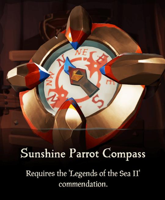 Sunshine Parrot Compass
