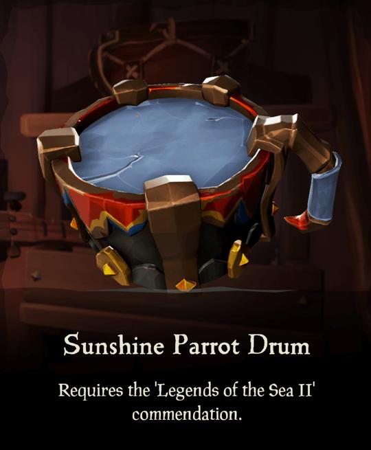 Sunshine Parrot Drum
