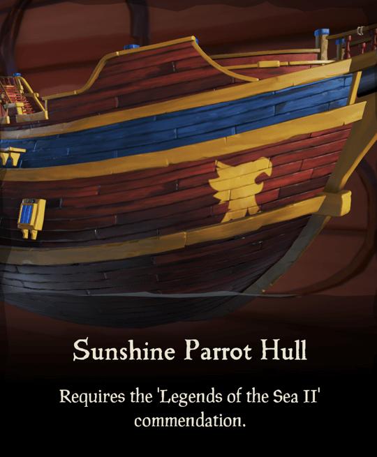 Sunshine Parrot Hull