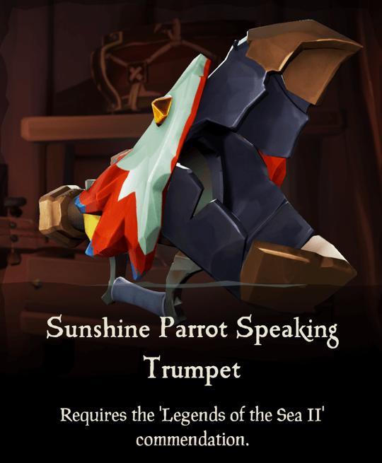 Sunshine Parrot Speaking Trumpet