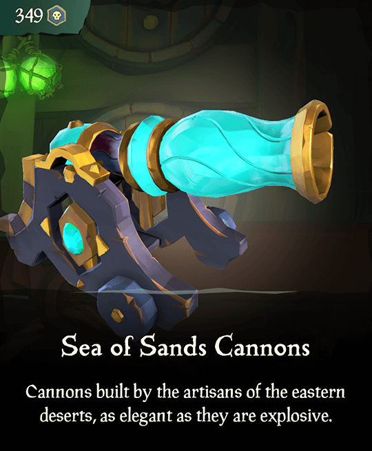 Sea of Sands Cannons