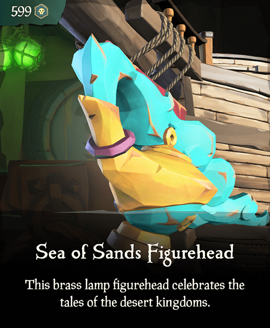 Sea of Sands Figurehead