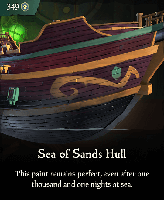 Sea of Sands Hull