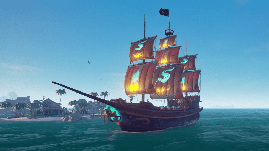 Sea of Sands Ship Collection
