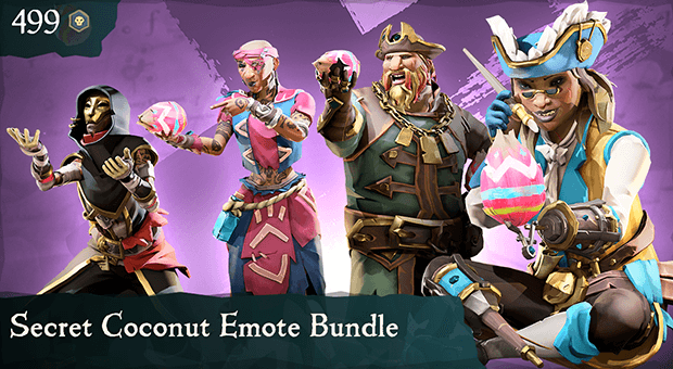 Secret Coconut Emote Bundle