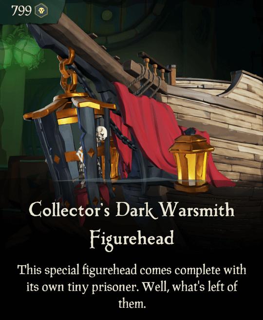 Collector's Dark Warsmith Figurehead