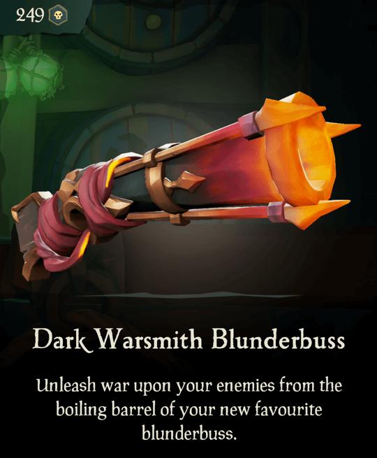 Dark Warsmith Blunderbuss