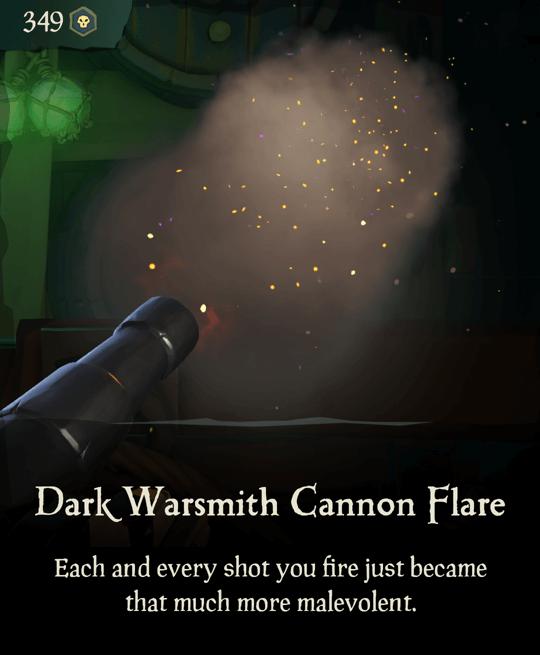 Dark Warsmith Cannon Flare