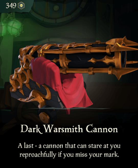 Dark Warsmith Cannon