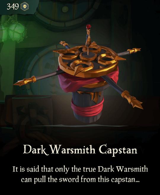 Dark Warsmith Capstan