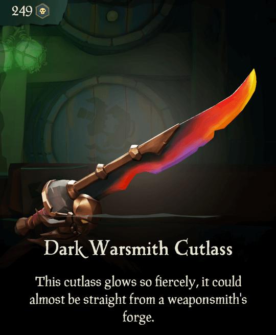 Dark Warsmith Cutlass